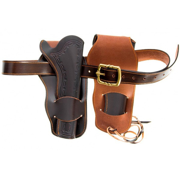 Double Western Leather Holster